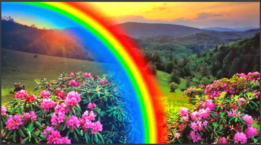 arcoiris creado