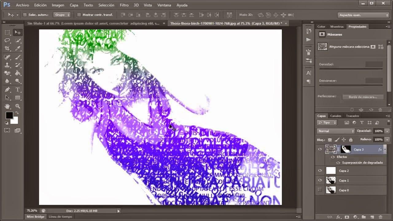 resultado efecto convertir imagen a texto