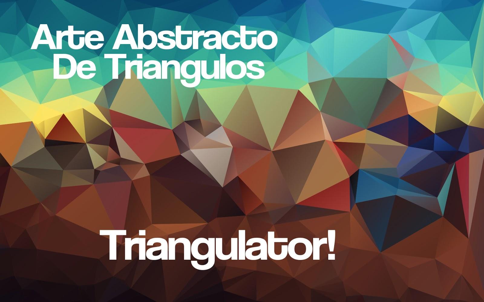 Fondos Abstractos de Triángulos