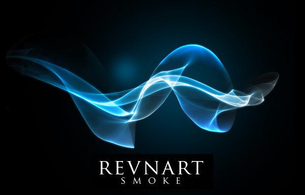 30 Revnart Smoke Brushes For Photoshop