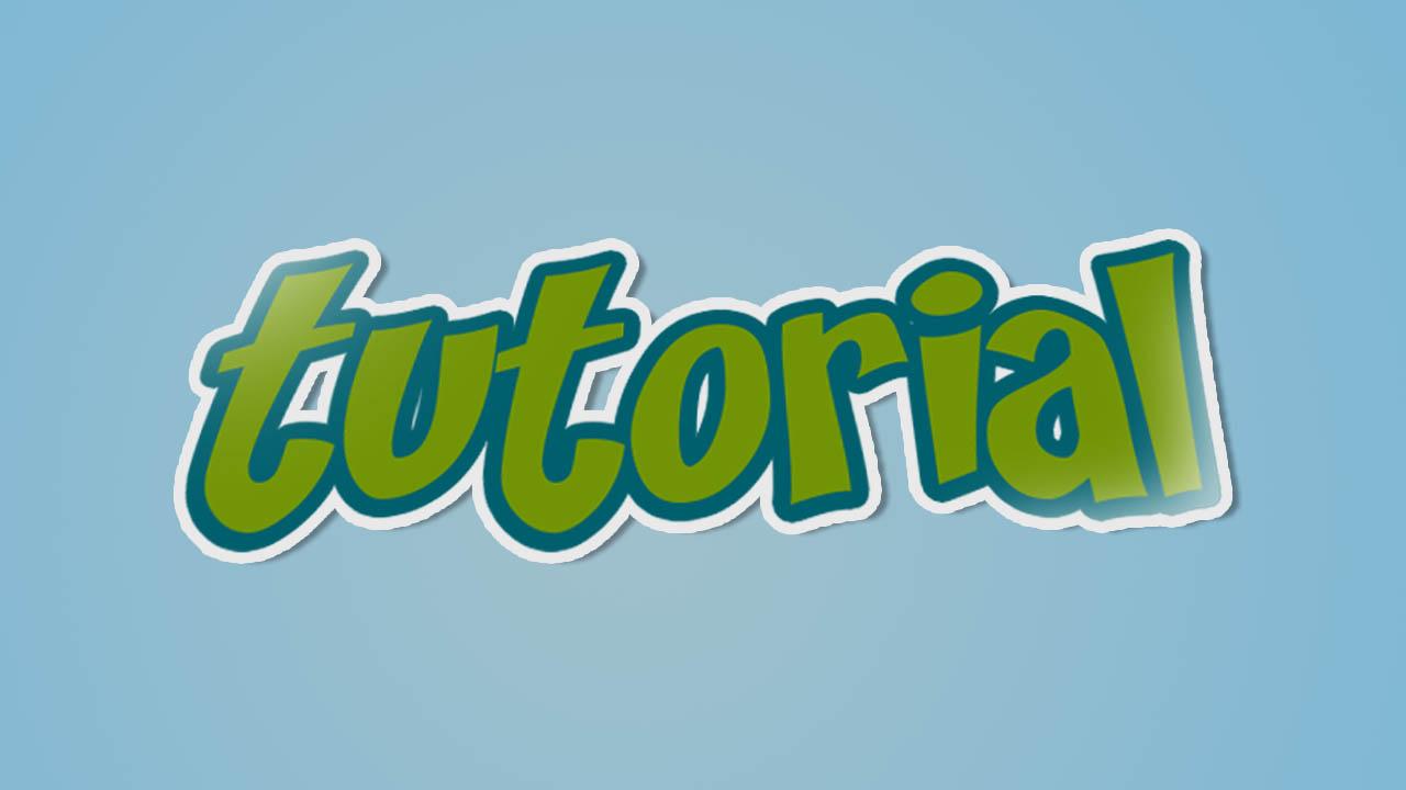 Texto Con Efecto Sticker