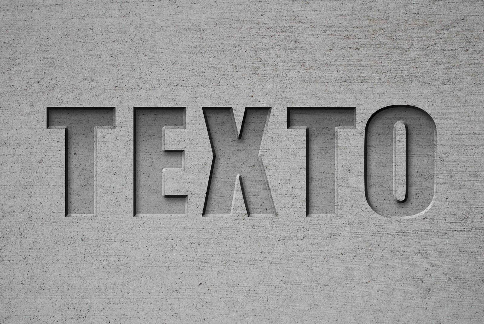 Esculpe y Talla Texto en Múltiples Materiales