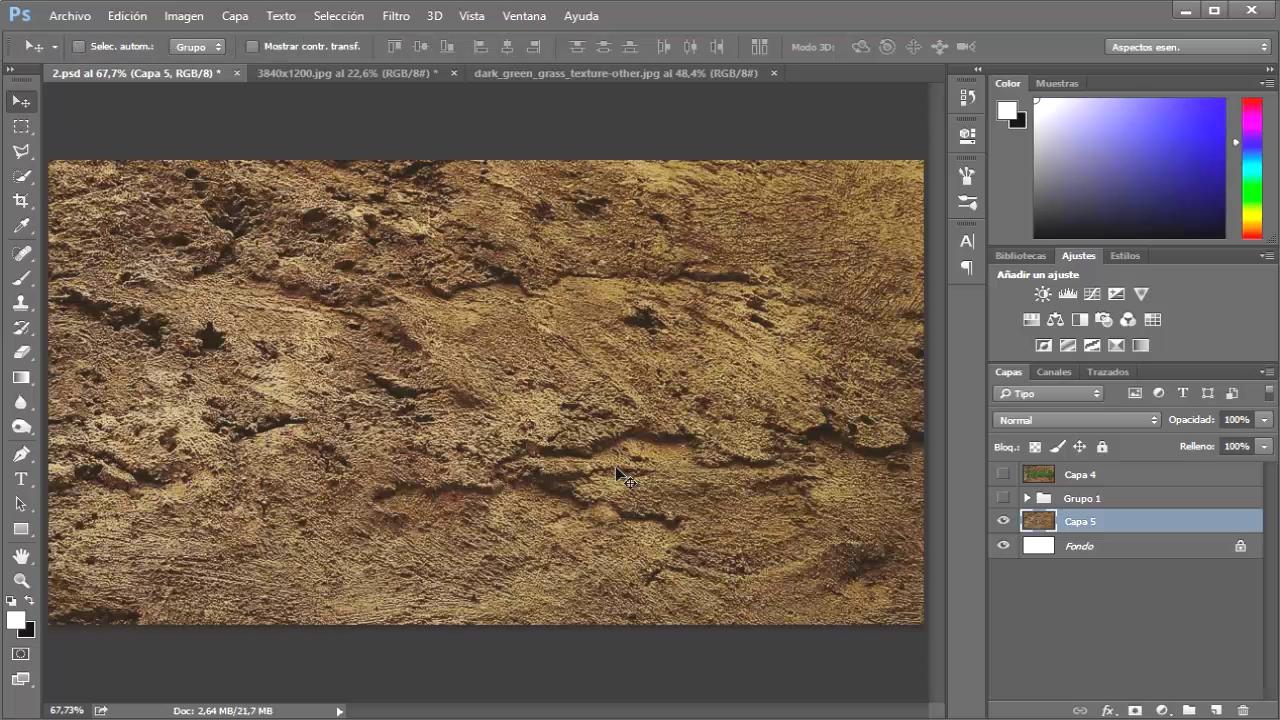 textura de tierra