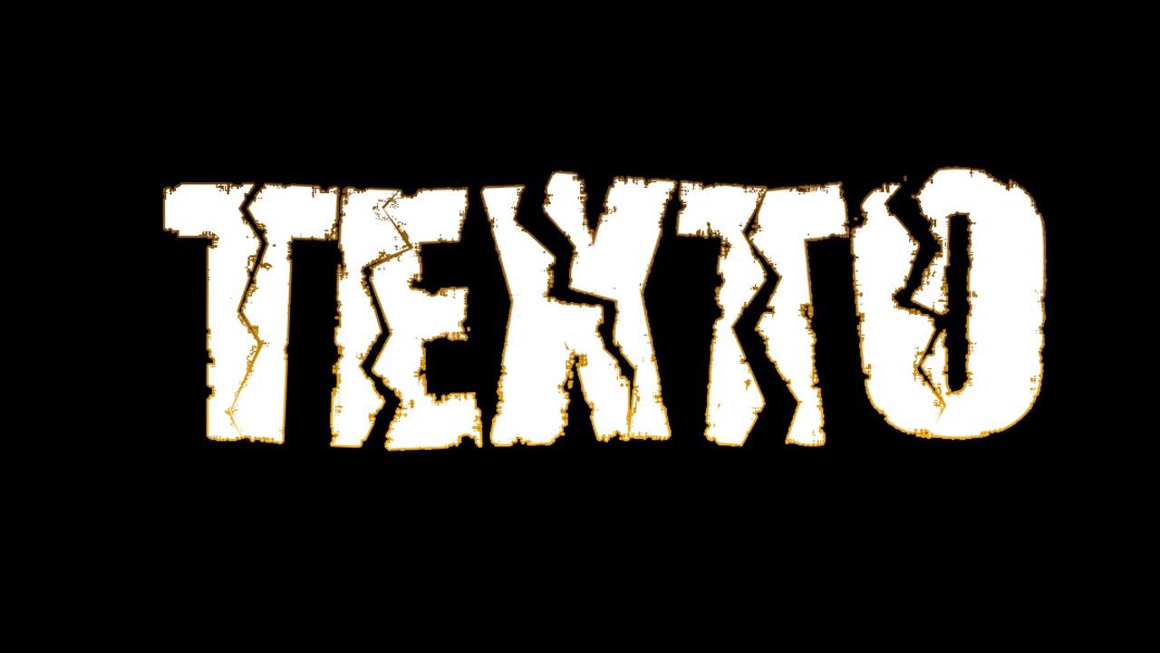 Texto Rasgado y Desgastado
