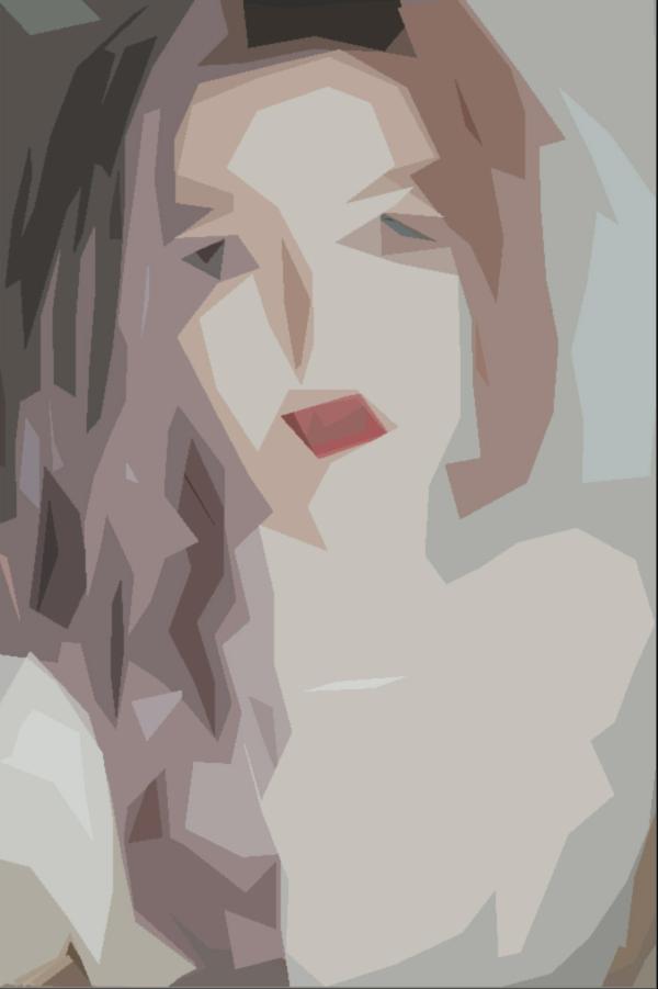 efecto artístico pop art filtro cuarteado