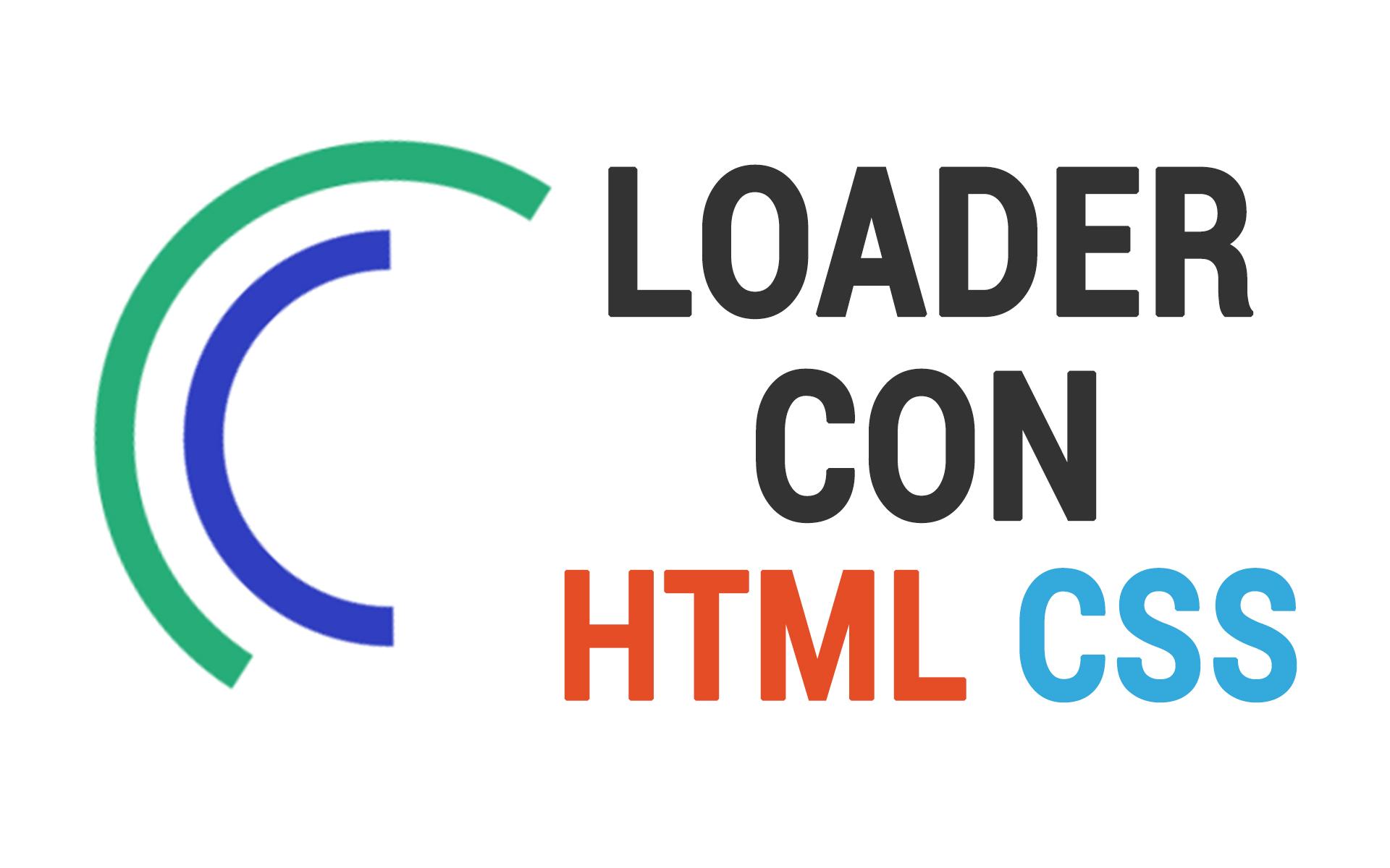 loader con html5 y css3